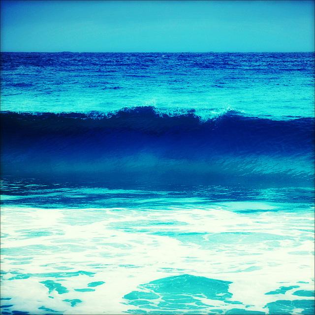 Abstrait bleu.