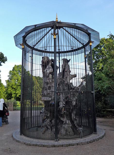 The Elfin Oak in Kensington Gardens, May 2014