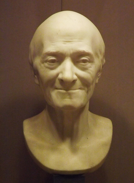 Voltaire by Houdon in the Metropolitan Museum of Art, February 2014