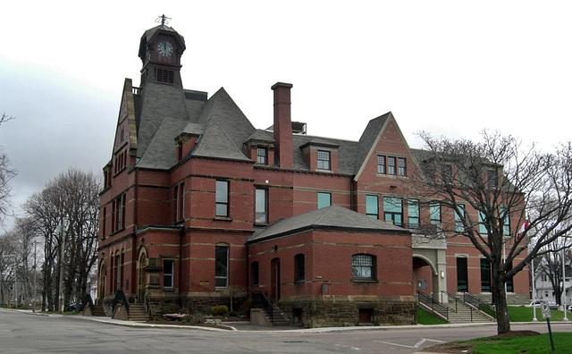 Town Hall, Summerside, Prince Edward Island, Canada