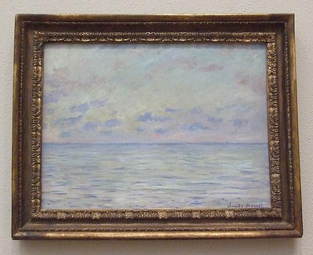 Marine View Near Etretat by Monet in the Philadelphia Museum of Art, January 2012