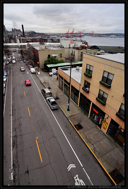 Seattle Waterfront Streets