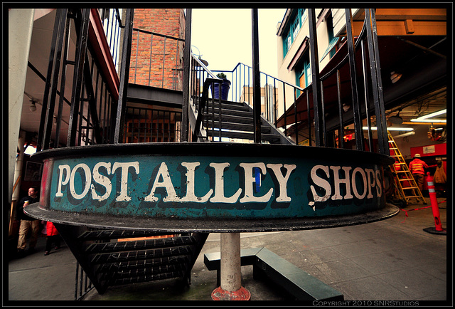 Post Alley Shops