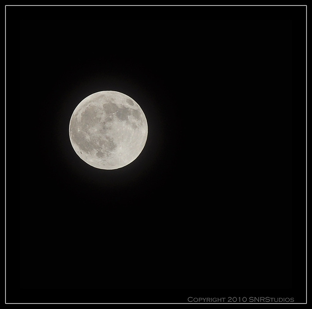 Moon before Eclipse