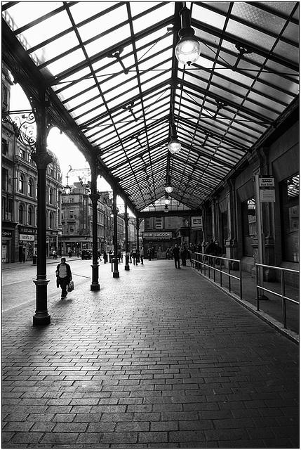 Glasgow station.