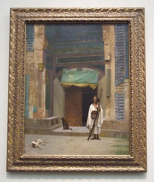 The Portal of the Green Mosque by Gerome in the Philadelphia Museum of Art, January 2012