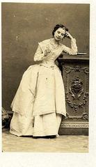 Louise Saint-Aguet by Disderi