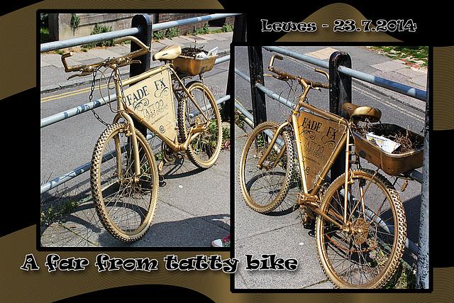 Gold bike - Lewes - 23.7.2014