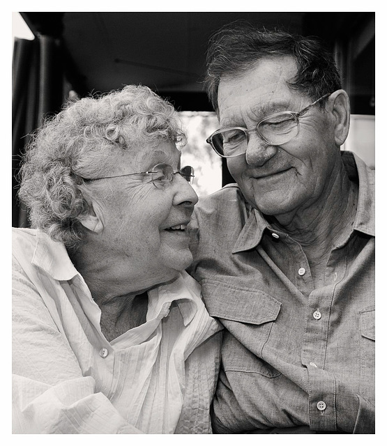 Tribute to the elderly - Mary and Maurice