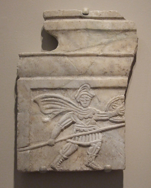 Fragmentary Relief with Goliath from a Tetraconch Church in the Princeton University Art Museum, July 2011