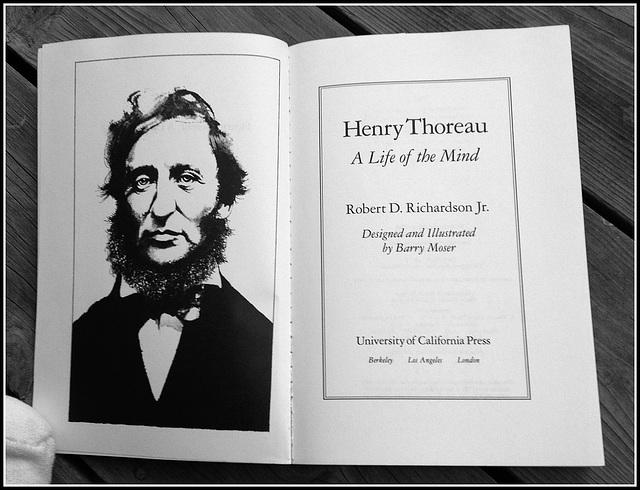 Henry Thoreau ~ A Life of Mind *