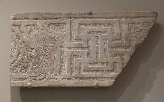 Fragmentary Relief with St. Paul from a Tetraconch Church in the Princeton University Art Museum, July 2011