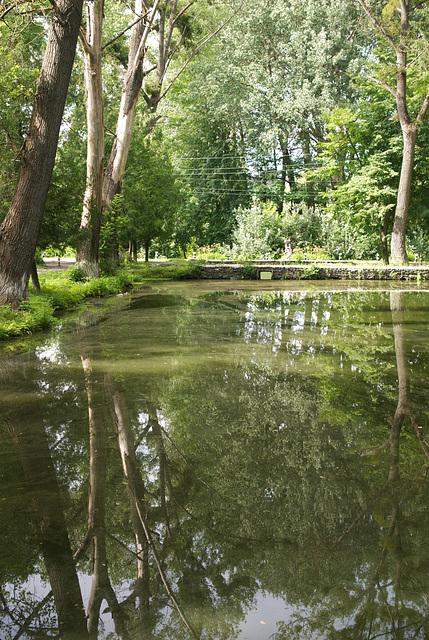 Park im ehemaligen Gut der Familie von Meck