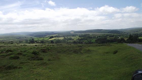 Around the top of Dartmoor