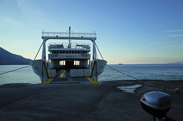 Kefalonia to Zante Ferry Early Morning GR 1
