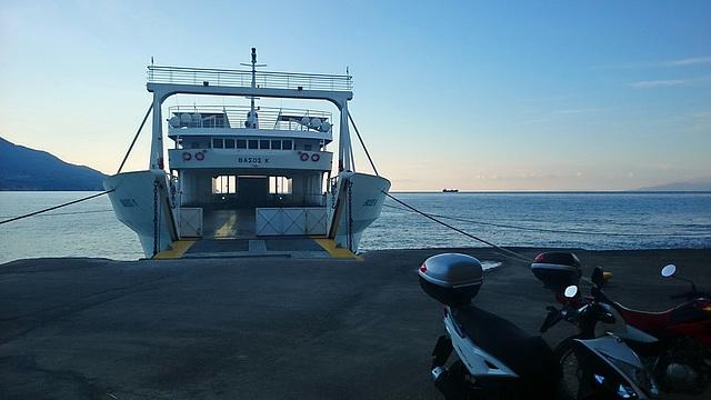 Kefalonia to Zante Ferry Early Morning Xperia 1