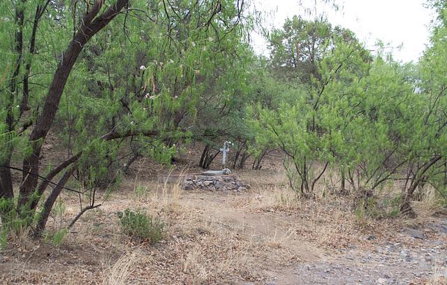 Coronado NF Harshaw cemetery (2199)