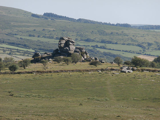 Another rocky outcrop