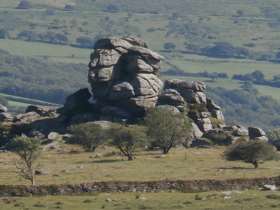 Climbing schools often use these rocky outcrops to practice on