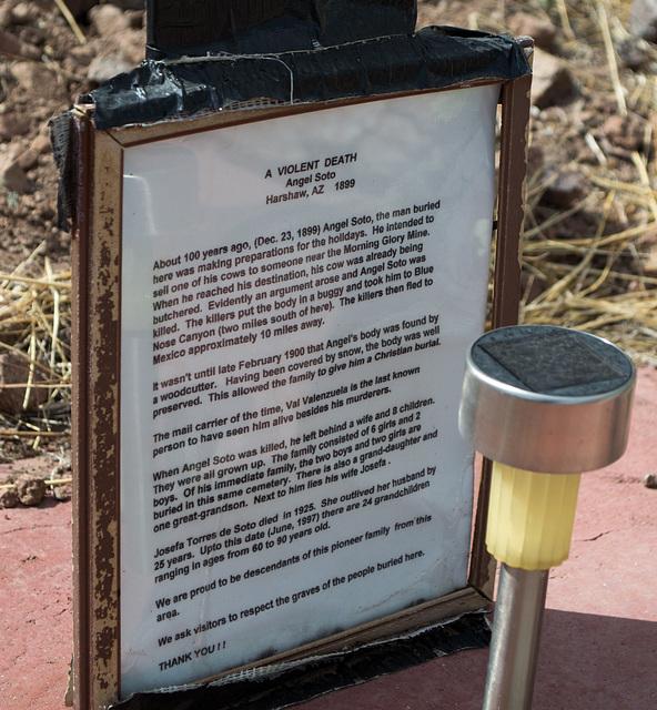 Coronado NF Harshaw cemetery (2211)