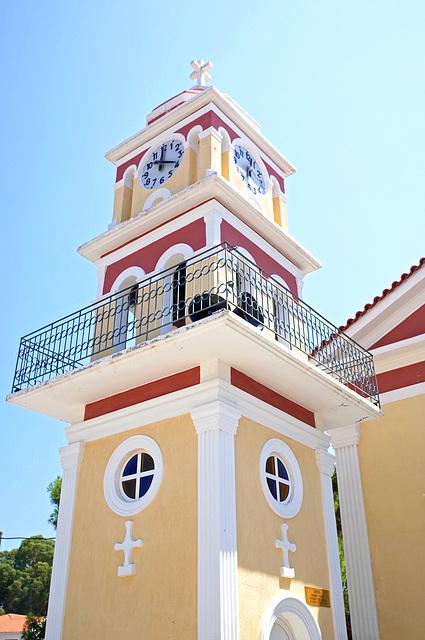Skala Kefalonia Church Tower GR 1