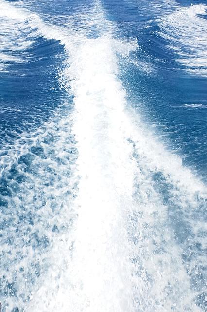 Skala to Katelios Water Taxi Wake GR 1
