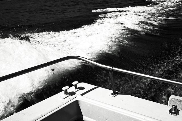 Skala to Katelios Water Taxi Wake GR 2