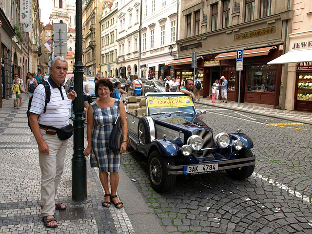 E-amikoj kune en Prago ...