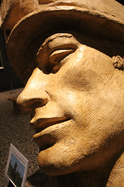 Miner's Head by Arthur Fleichmann (1896-1990), Bowes Museum, Barnard Castle