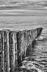 Groyne on Dunster beach