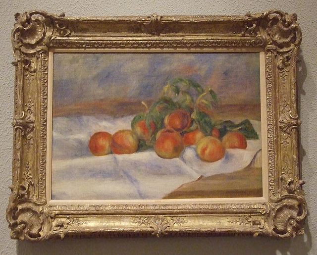 Peaches by Renoir in the Philadelphia Museum of Art, August 2009