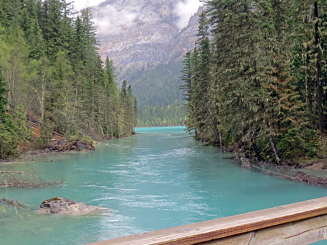 Fabulous turquoise lake