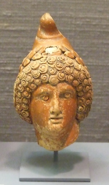 Ipernity Terracotta Head Of Mithras In The Princeton