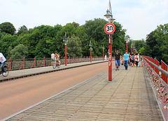 Brücke über die Isar
