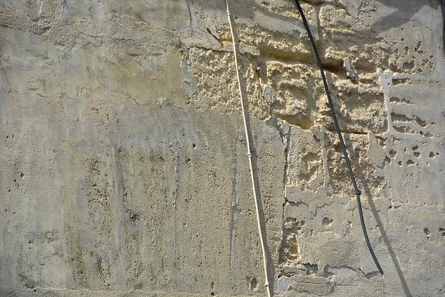 mur effrité