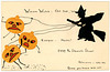 Witches Watch Halloween Party Invitation, October 31, 1914