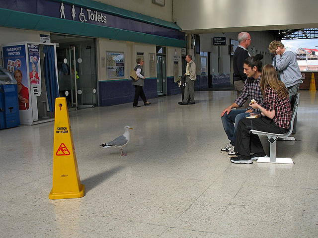 Inverness station concourse