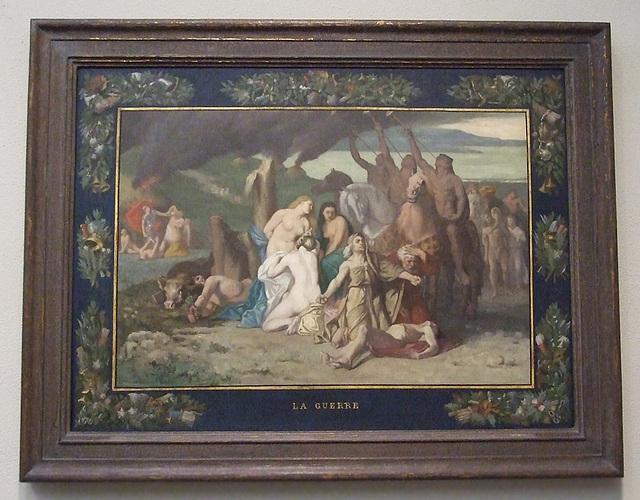 War by Puvis de Chavannes in the Philadelphia Museum of Art, August 2009