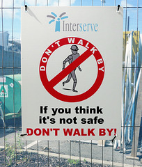 Walk or don't walk?