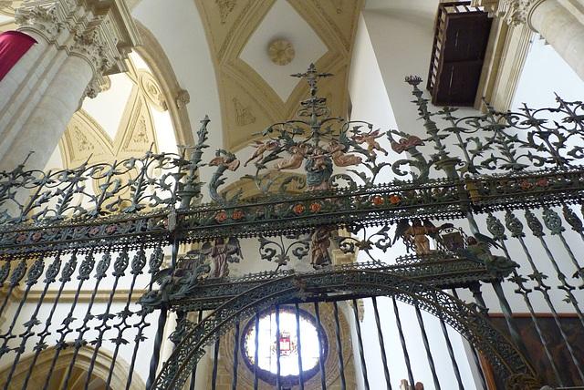 Baeza, rejas en el interior de la Catedral