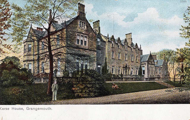 Kerse House, Grangemouth, Stirlingshire (Demolished)