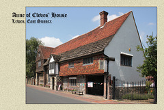 Anne of Cleves' House - Lewes - 23.7.2014