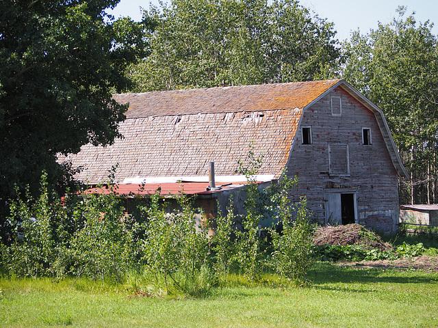 Old Alberta Barn