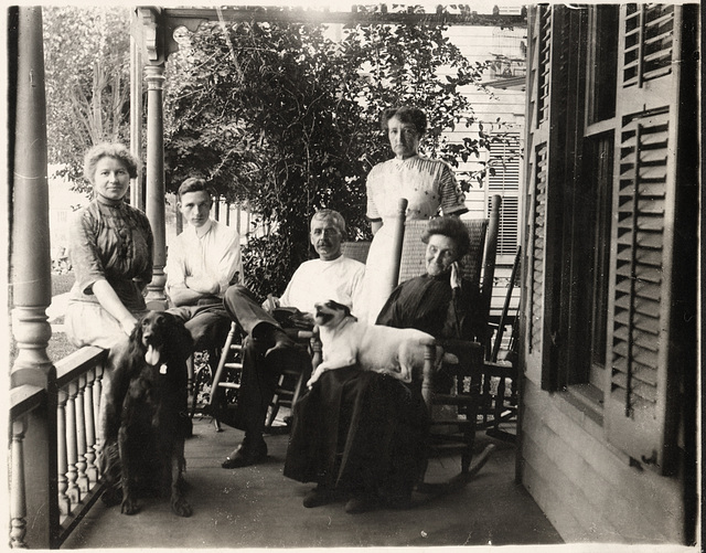 Front Porch Family Gathering