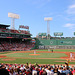 An afternoon game at Fenway Park