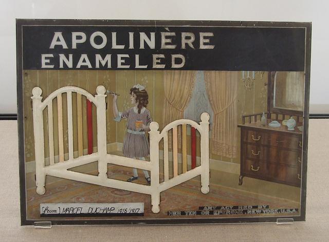 Apolinere Enameled by Duchamp in the Philadelphia Museum of Art, January 2012