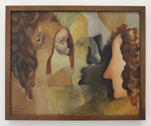 Yvonne and Magdeleine Torn in Tatters by Duchamp in the Philadelphia Museum of Art, January 2012