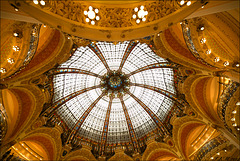 Paris, Galeries Lafayette, coupole