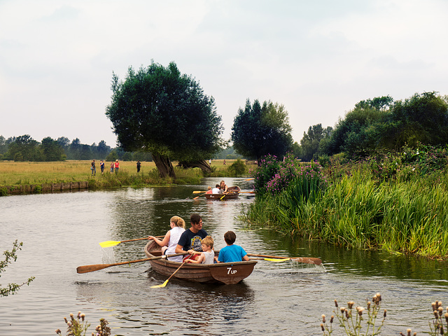 Flatford on the River Stour