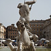 Detail of the Fountain of Neptune in Piazza Navona, June 2012